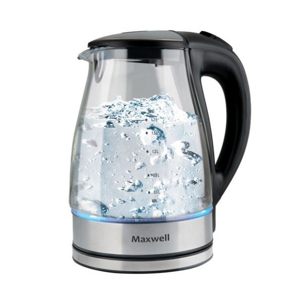MAXWELL представляет стеклянный чайник