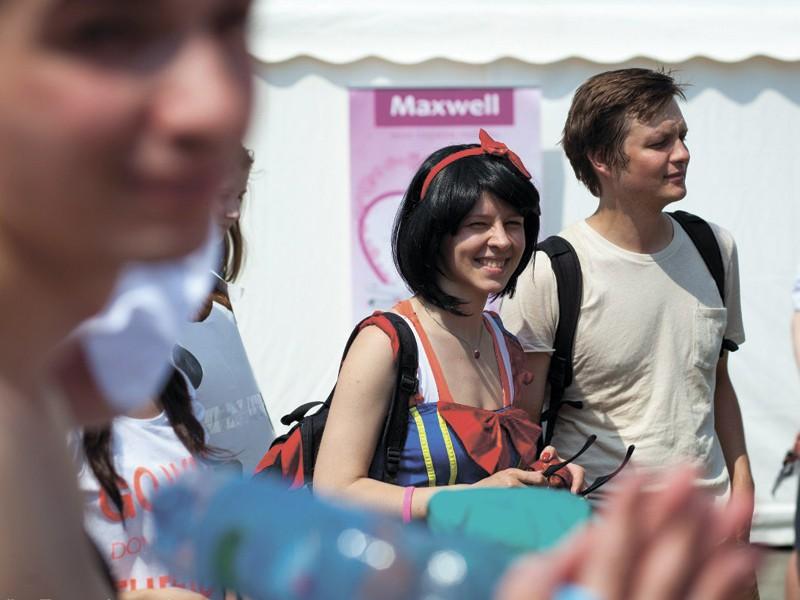 Бренд Maxwell стал партнером всероссийского весеннего забега!